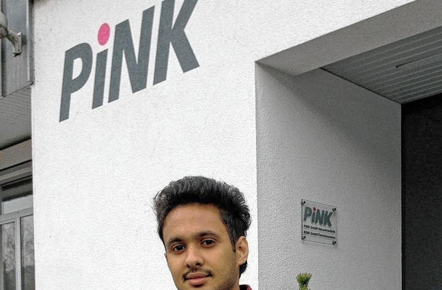 Der indische Student Jaskaran Singh absolvierte kürzlich ein neunwöchiges Praktikum bei der Firma ...