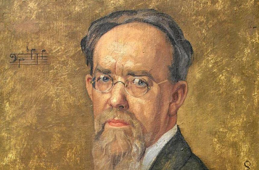 Reiches und vielfältiges Werk: Waldemar von Baußnern in einem Porträt von Ottilie W. Roederstein ...